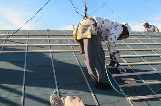 屋根の葺き替えパターン
