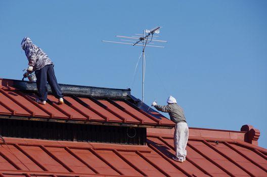 屋根塗装の流れと手順